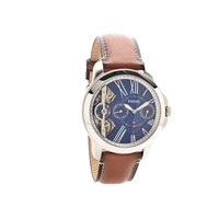 Fossil ME1161 Automatic Tan Leather Strap Watch - W07114