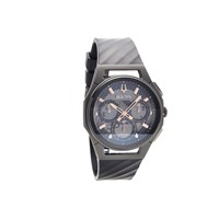 Bulova Curv 98A162 Titanium Case Chronograph Black Silicon Strap Watch - W09101