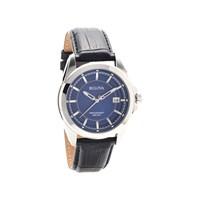 Bulova 96B257 Precisionist Blue Dial Black Leather Strap Watch - W0925