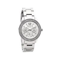 Fossil ES3588 Stella Stainless Steel Stone Set Bracelet Watch - W1057