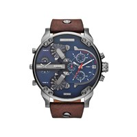 Diesel DZ4239 Mr Daddy 2.0 Chronograph Brown Leather Strap Watch - W1115