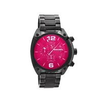 Diesel DZ4316 Overflow Black Ionic Finish Chronograph Bracelet Watch - W1139