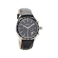 Rotary GS00528/04 Chronograph Black Leather Strap Watch - W1270