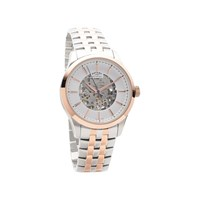 Rotary GB05034/06 Two Tone Automatic Skeleton Dial Bracelet Watch - W1330