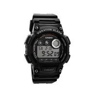 Casio W735H1AVEF Alarm Chronograph Black Resin Strap Watch  W1437
