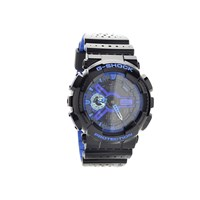 Casio GA-110LPA-1AER G-Shock Alarm Chronograph Black Resin Strap Watch - W1491