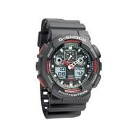 Casio GA-100-1A4ER G-Shock Alarm Chronograph Watch - W1502