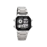 Casio AE1200WHD1AVEF Chronograph LCD Multifunction World Time Bracelet Watch  W1504