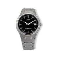 Lorus RXH47DX9 Titanium Black Dial Bracelet Strap Watch  W1641