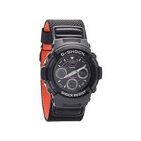 Casio AW-591MS-1AER G-Shock Black Fabric Strap Watch - W1709