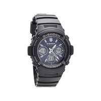 Casio AWG-M100SB-2AER G-Shock Solar Alarm Chronograph Black Resin Strap Watch - W1711