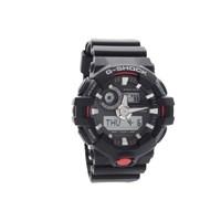 Casio GA-700-1AER G-Shock World Time Black Resin Strap Watch - W1713
