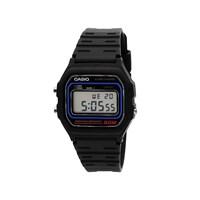 Casio W591VQES Retro Alarm Chronograph Black Resin Strap Watch  W1728