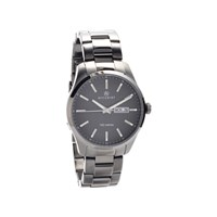 Accurist 7058 Granite Grey Ionic Finish Bracelet Watch - W1927
