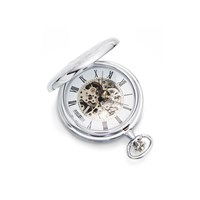 Jean Pierre G251C Mechanical Pocket Watch And Chain - W2207