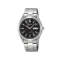 Seiko SNE039P1 Stainless Steel Solar Bracelet Watch - W2404