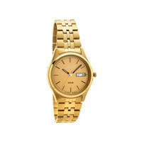 Seiko SNE036P1 Gold Plated Solar Bracelet Watch - W2411
