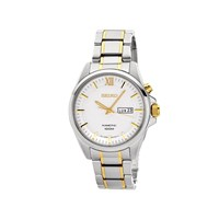 Seiko SMY161P1 Two Tone Kinetic Bracelet Watch  W2431