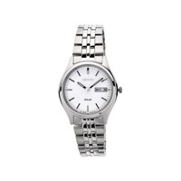 Seiko SNE031P1 Stainless Steel Solar Powered Bracelet Watch - W2440