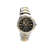 Seiko SSC376P9 Courtura Two Tone Perpetual Solar Bracelet Watch - W2476