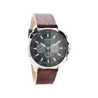 Seiko SSC513P9 Solar Chronograph Brown Leather Strap Watch - W2493
