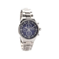 Seiko SSC365P1 Titanium Solar Chronograph Blue Dial Bracelet Watch  W2507