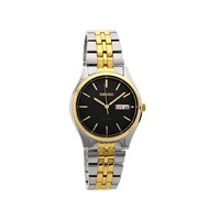 Seiko SNE034P1 Two Tone Solar Powered Bracelet Watch - W2512