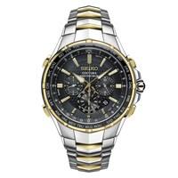 Seiko SSG010P9 Coutura Two Tone Chronograph Bracelet Watch - W2537