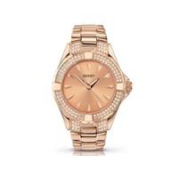 Seksy 4669 Intense Rose Gold Plated Stone Set Bracelet Watch - W3303