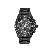 Citizen AT4007-54E Perpetual Chronograph A-T Eco-Drive Radio Controlled Bracelet Watch - W3701