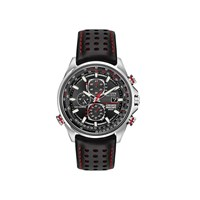 Citizen AT8060-09E Red Arrows A-T Eco-Drive Radio Controlled Black Leather Strap Watch - W3702