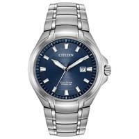Citizen BM7170-53L Titanium Eco-Drive Bracelet Watch - W3711