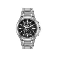 Citizen CA0260-52E Titanium Eco-Drive Chronograph Bracelet Watch - W3805