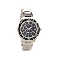 Citizen AT2380-51E Stainless Steel Eco-Drive Chronograph Bracelet Watch - W38102