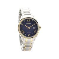 Citizen AU1059-51L Two Tone Eco-Drive Blue Dial Bracelet Watch - W3816