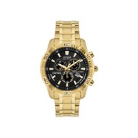 Citizen BL5452-59F Gold Plated Eco-Drive Chronograph Bracelet Watch - W3824