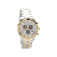 Citizen BL5458-52A Two Tone Eco-Drive Perpetual Chronograph Bracelet Watch - W3830