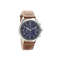 Citizen CA0621-05L Sport Eco-Drive Brown Leather Strap Watch - W3917