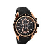 Pulsar PV6002X1 Sports Chronograph Black Resin Strap Watch - W4202