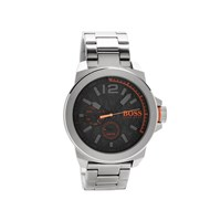 Hugo Boss Orange Black Dial Bracelet Watch - W45100