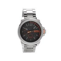 Hugo Boss Orange Black Dial Bracelet Watch - W45100