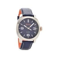 Hugo Boss Orange 1513410 Cape Town Blue Leather Strap Watch - W45102