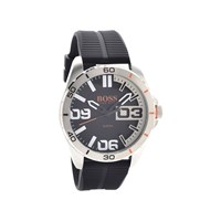 Hugo Boss Orange 1513285 Black Resin Strap Watch - W45109