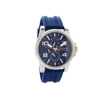 Hugo Boss Orange 1550008 Chronograph Blue Resin Strap Watch - W45118