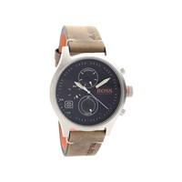 Hugo Boss Orange 1550021 Amsterdam Multi Dial Tan Leather Strap Watch - W45125