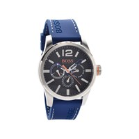 Hugo Boss Orange 1513250 Paris Chronograph Blue Resin Strap Watch - W4552
