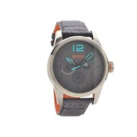 Hugo Boss Orange 1513379 Paris Grey Fabric Strap Watch - W4567