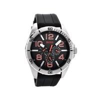 Hugo Boss Orange 1512945 Stainless Steel Black Resin Strap Watch - W4574
