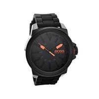 Hugo Boss Orange 1513004 Black Ionic Finish Black Resin Strap Watch - W4577