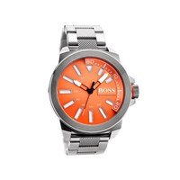 Hugo Boss Orange 1513007 Stainless Steel Orange Dial Bracelet Watch - W4579